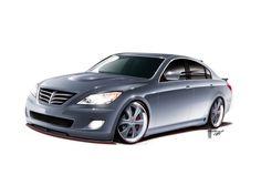 2009-Hyundai-RKSport-Genesis-Sedan