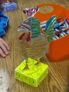 Picasso Rooster Sculptures - Art Julz