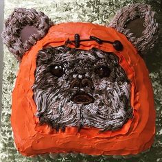 The Pastry Corner - Mount Kisco, NY, United States. STAR WARS EWOK FACE. SUCH A JOY TO WORK ON.