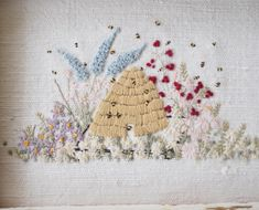 Grand Sewing Embroidery Designs At Home Ideas. Beauteous Finished Sewing Embroidery Designs At Home Ideas. Vintage Bee, Embroidery For Beginners, Haberdashery, Scented Candles, Vintage Patterns, Pretty Little, Embroidery Patterns, Pattern Design, Stitch