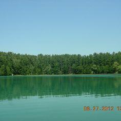 Pretty Marl Lake at Hartman Creek State Park in Waupaca, WI