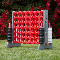 Grandma Quotes Discover Jumbo Four-To-Score Giant Game-Indoor/Outdoor Connect - Red and Gray Diy Yard Games, Lawn Games, Backyard Games, Field Day Games, 4 In A Row, Outside Games, Giant Games, Indoor Outdoor, Outdoor Toys