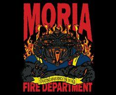 Moria Fire Department T-Shirt