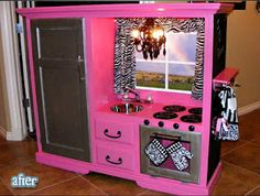 Pink Kitchen !
