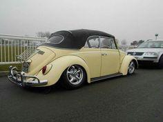Volkswagon Van, Volkswagen Bus, Vw Camper, Volkswagen Convertible, Kdf Wagen, Yellow Car, Vw Beetles, Porsche, Street Rods