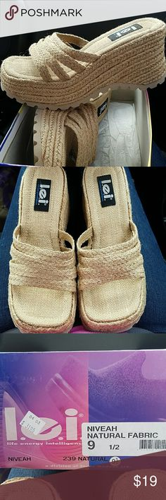 L.e.i sandals Brand new in box l.e.i sandals lei Shoes Wedges