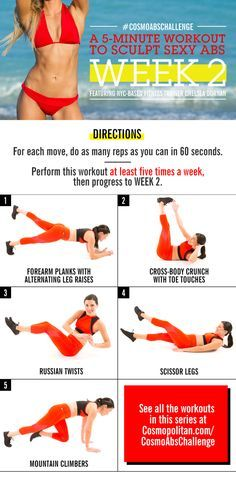 All it takes is five minutes a day. | Posted By: NewHowToLoseBellyFat.com