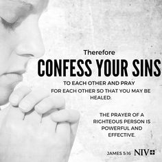 NIV Verse of the Day: James 5:16