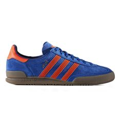 adidas Originals Jeans (Collegiate Royal/Solar Red/Gum 5) from Consortium Adidas Originals Jeans, Trainers, Adidas Sneakers, Shopping, Shoes, Fashion, Tennis, Moda, Zapatos