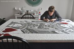 mosaicworks.ca: Making The Queen of Hearts