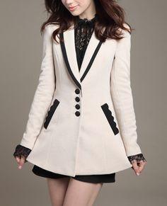 Woman coat/ Woman Jacket/Tunic/Short Jacket/Long by Eloneeclothing, $79.00