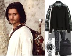 """Orlando Bloom :)"" by quiet ❤ liked on Polyvore"