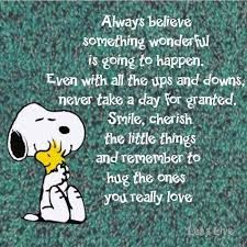 Big advice from a little Snoopy. Charlie Brown Quotes, Charlie Brown And Snoopy, Charlie Brown Christmas, Peanuts Quotes, Snoopy Quotes Love, Funny Quotes, Life Quotes, Peanuts Snoopy, Snoopy Hug