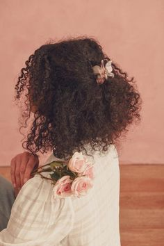 Curly Afro Hair, Curly Hair Styles, Natural Hair Styles, Natural Hair Accessories, Head Accessories, Clip Hairstyles, Cute Curly Hairstyles, Naturally Curly Hairstyles, Braided Hairstyles