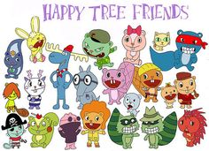 Anyone remember Happy Tree Friends?