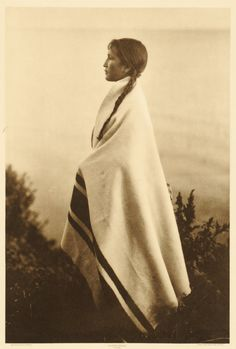 :::::::::: Vintage Photograph :::::::::  Every Wind, Ojibway Woman by Roland W. Reed.