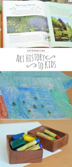 Great resources and ideas for introducing art history to kids...