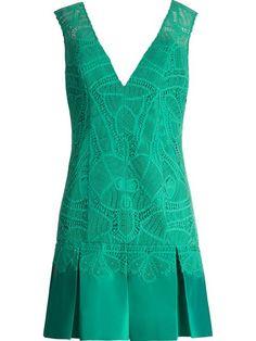 Martha Medeiros Vestido Verde Com Aplicações - Martha Medeiros - Farfetch.com