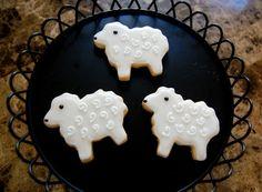 Lamb Sugar Cookies - 1 Dozen. $33.00, via Etsy.