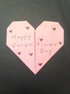 Make A Cute Little Origami Valentine For Your Sweetheart