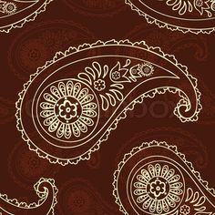 Stock vector of 'beautiful paisley seamless background' Pattern Design, Print Design, Paisley, Seamless Background, Embroidery Jewelry, Wooden Blocks, Paint Ideas, Pattern Wallpaper, Art Images
