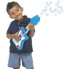 No Spill Bubble Guitar by Little Kids | eBeanstalk