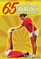 65 Conditioning Exercises for Cheerleading and Dancing - with Stan Tabor, National Cheerleaders Association's State Director for Arkansas, Louisiana, and Mississippi. Former University of Arkansas-Little Rock Cheer Coach Cheerleading Workouts, Cheer Tryouts, Football Cheer, Cheer Coaches, Cheer Stunts, Basketball Cheers, College Cheerleading, Cheerleading Stretching, Cheerleading Company