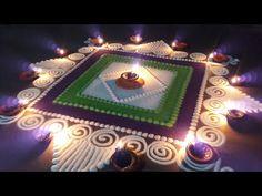 Rangoli Designs Simple Diwali, Happy Diwali Rangoli, Simple Rangoli Border Designs, Rangoli Simple, Rangoli Designs Latest, Simple Rangoli Designs Images, Rangoli Designs Flower, Free Hand Rangoli Design, Small Rangoli Design