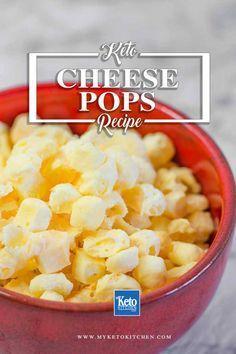 Keto Popcorn Cheese Puffs Recipe