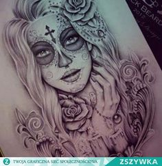 20 wunderschöne Sugar Skull Tattoo-Ideen - Stay at Hom . - 20 Gorgeous Sugar Skull Tattoo Ideas – Stay at Home Mum Tag des toten Tattoo-Designs - Body Art Tattoos, New Tattoos, Tattoo Drawings, Girl Tattoos, Tatoos, Gypsy Tattoos, Tattoo Ink, Gypsy Tattoo Sleeve, Butterfly Sleeve Tattoo
