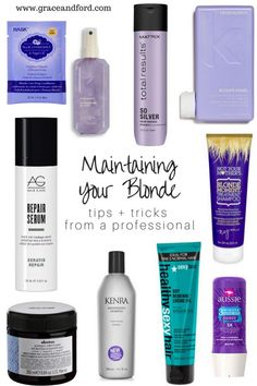 Tips and tricks on how to manage blonde hair + stylists advice - Nui Style World Blonde Hair Tips, Bleach Blonde Hair, Blonde Hair Products, Blonde Beauty, Blonde Brunette, Star Mobile, Bronde Hair Balayage, Best Purple Shampoo, Best Blonde Shampoo