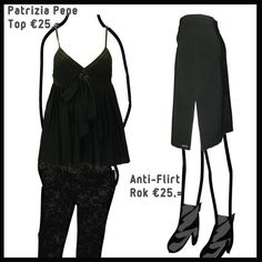 Black items from Patrizia Pepe en Anti-Flirt
