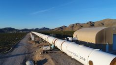 Hyperloop One completes Vegas test track tube reveals 11 proposed U.S. routes