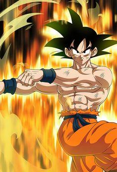 Goku SSJ Kaioken (Aureole) card [Bucchigiri Match] by on DeviantArt Dragon Ball Gt, Dragon Ball Image, Dragon Bollz, Goku E Vegeta, Goku Vegeta Fusion, Goku Vs, Son Goku, Foto Do Goku, Broly Movie