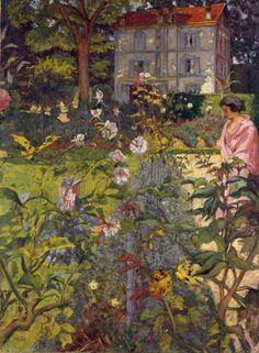 Édouard Vuillard - Jardin à Vaucresson