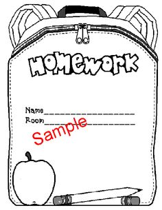 Kindergarten Homework packets-not free but it gives you some ideas to make up your own packet