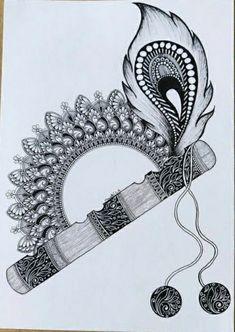 Mandala Art Therapy, Mandala Art Lesson, Easy Mandala Drawing, Doodle Art Drawing, Art Painting Gallery, Dot Art Painting, Art Drawings Beautiful, Art Drawings Sketches Simple, Canvas Art Quotes