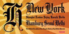 Ruca Script Tattoo Design Font