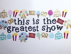 Excited to share the latest addition to my shop: Carnival banner/ carnival party/ Ferris wheel/ merry go round/ the greatest showman/ concessions/ greatest showman/ pt barnum/ circus party Carnival Birthday, 10th Birthday, Birthday Parties, Birthday Ideas, Circus Theme Classroom, Classroom Decor, Barnum Circus, Pt Barnum, Kids Party Themes
