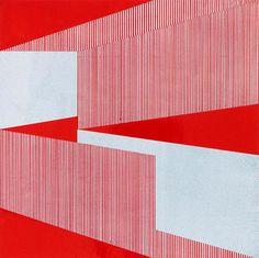Emma Langridge - (The Age of) Entanglement I (2011),: acrylic/enamel, aluminium, 30x30cm. See more at http://www.emmalangridge.com/index.php?/artwork/2012/2/