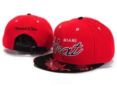 NBA Miami Heat Snapback Hat (134) , cheap wholesale  5.6 - www.hats-malls.com