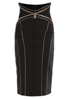 fbfe30ee27d Falda de tubo - black Moda Mulhere