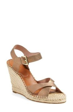 JOIE 'Kora' Wedge Sandal (Women). #joie #shoes #sandals
