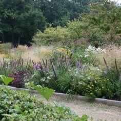 The Walled Garden at Kasteel Geldrop in the Netherlands