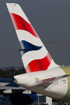 http://flic.kr/p/dpHM3a    British Airways Tail of the Airbus A380-800  © Clément Alloing  http://flic.kr/p/dpHM3a  www.flic.kr/p/dpHM3a