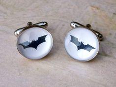 Comics Cufflinks - BATMAN cuff links - Superhero accessories for men