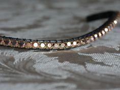Equiture - Custom large crystal elegante bespoke browband, $89.79 (http://www.equiture.biz/custom-large-crystal-elegante-bespoke-browband/)