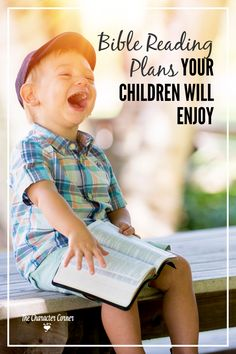 Not only should you help your kids develop the habit of reading God's Word daily, but you should also help them with a Bible reading plan they will ENJOY!