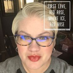 To layer with LipSense lipcolors by SeneGence means to create your own custom lipsense combinations. YOU get to pick the colors and shades to layer for the perfect diy color. So MIX IT UP!! Unlimited number of mixes can be created! For THIS lipcolor layer: First Love, Red Rose & Mauve Ice LipSense #lipsense #mixitup #lipsensemixology #senegence