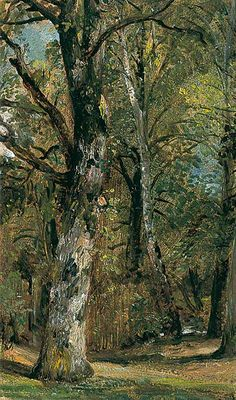 The Athenaeum - Avenue of Trees (John Constable - )